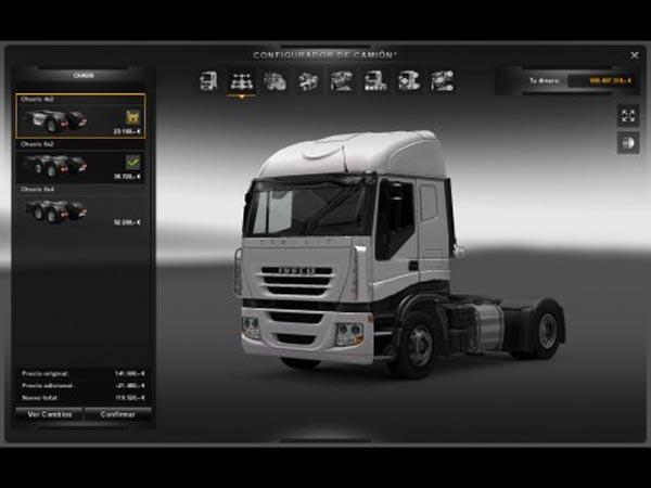 New Chassis Iveco 4×2