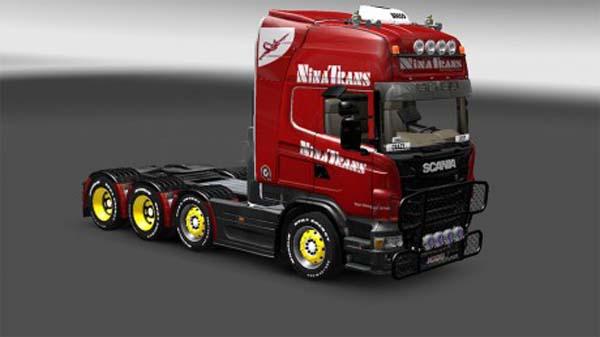 Ninatrans Scania skin