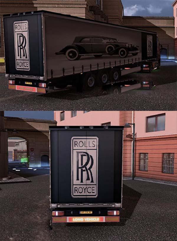 Rolls Royce 1932 trailer