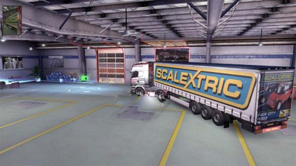 Scalextric trailer