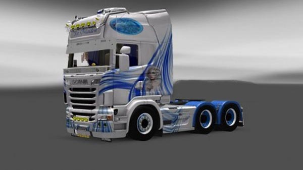 Scania Ice Maiden Skin