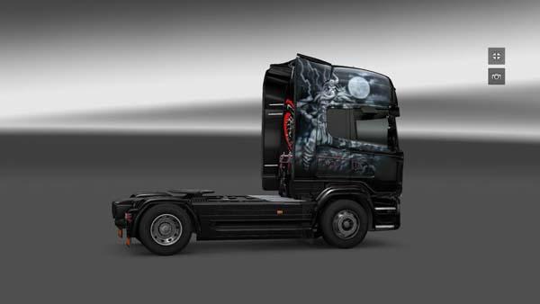 Scania Moonlight Express Skin