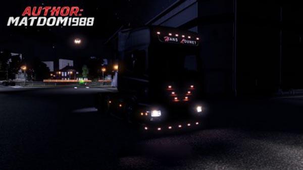 Scania R2008 Skin Hans Louwet Transport