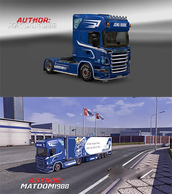Scania R2008 Trailers Jens Bode