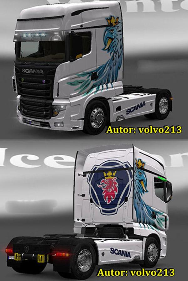 Scania R700 Skin