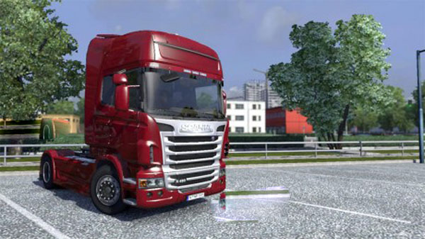 Scania Silver Frontgrill