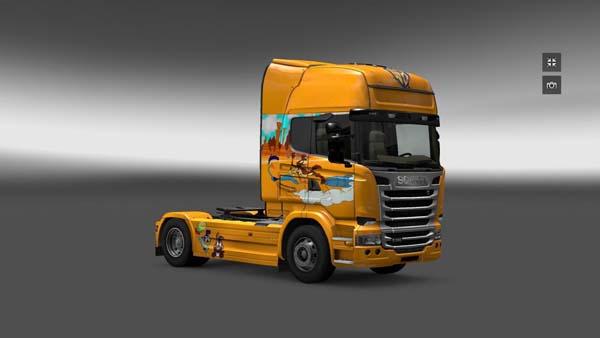 Scania Streamline Bep Bep skin