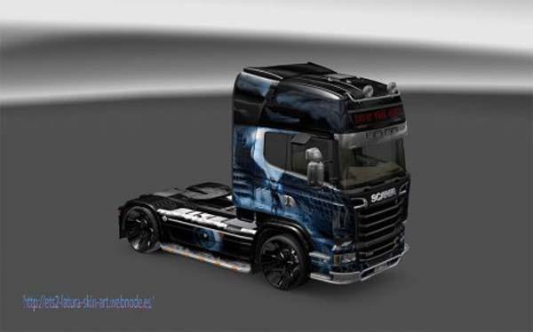 Scania Streamline Fallen Angel skin