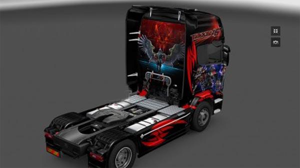 Scania Streamline TEKKEN 6 skin