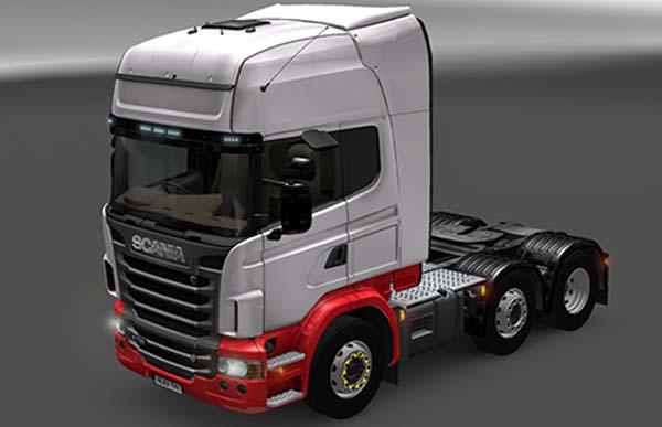 Scania Topline EX Eddie Stobart Skin