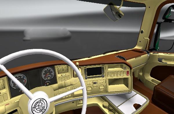 Scania V8 Interior