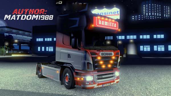 Scania Vamitra Skin