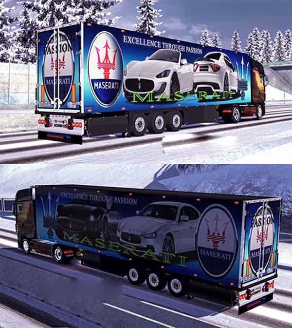 Schmitz Maserati trailer