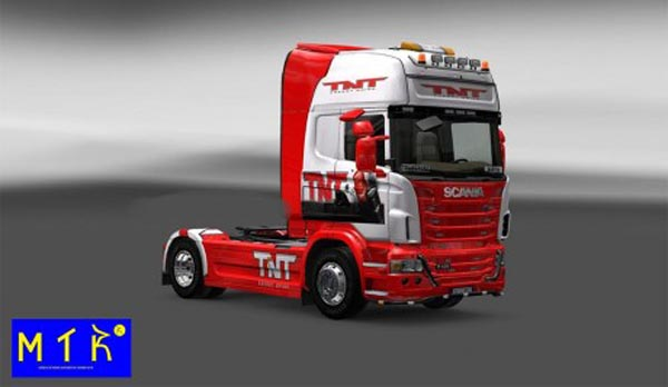 Skin Scania TNT Drink
