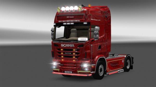 Skin TVX for Scania 2009