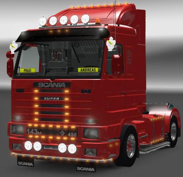 Sound for Scania 143