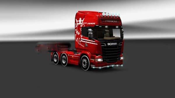Special Scania Streamline Mod
