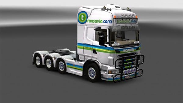 Transavia skin for Scania