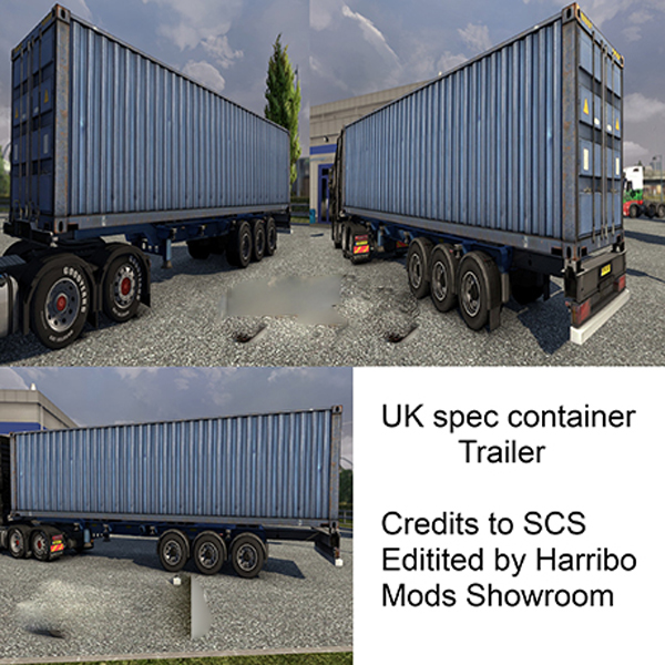 UK Spec Container Trailer