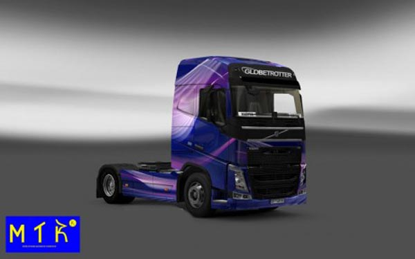 Volvo FH 2012 Light Wave Skin