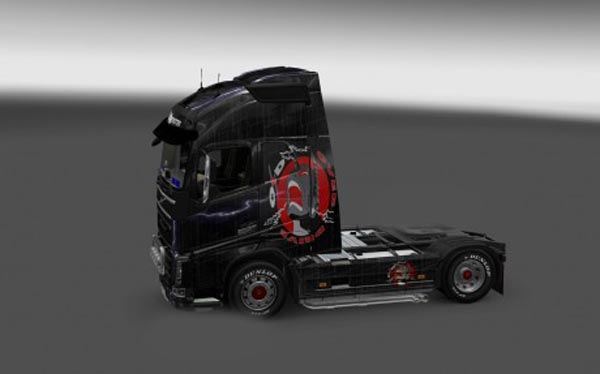 Volvo FH 2012 Over Drive Skin
