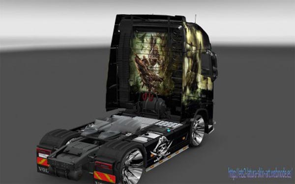 Volvo FH 2012 Pirate Skin