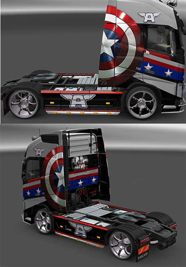 Volvo FH 2013 Avengers Skin