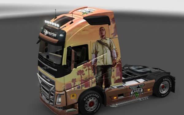 Volvo FH 2013 Grand Theft Auto V Skin