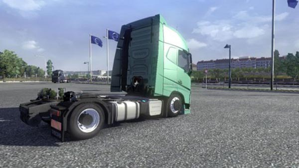 Volvo FH16 2013 4×2 Lowered Chassis