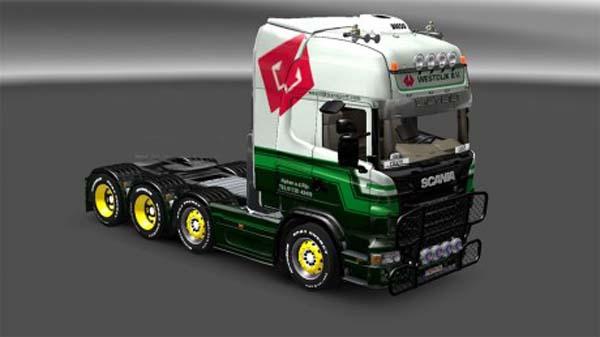 Westdijk Transport Scania skin