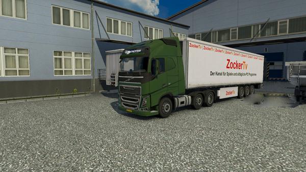 Zocker TV Trailer Skin
