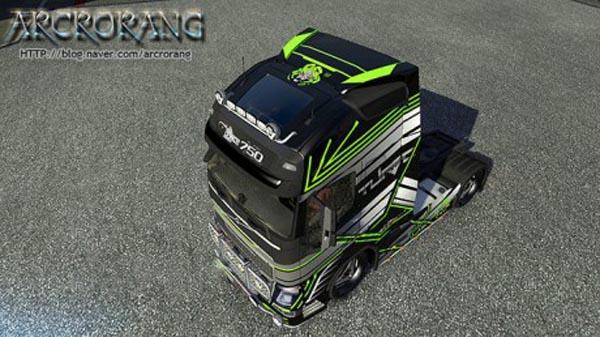 Volvo FH2013 Concept image skin 2