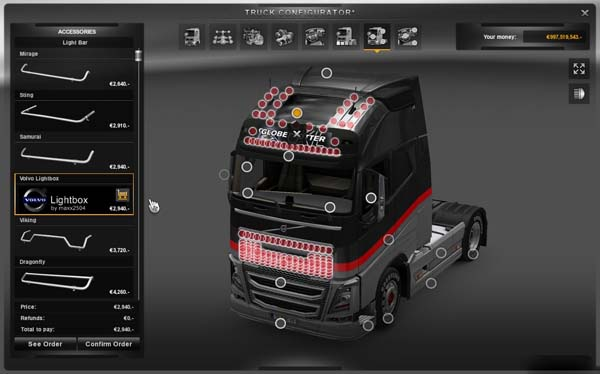 Volvo Lightbox