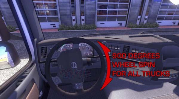 900 Degrees Wheel Spin