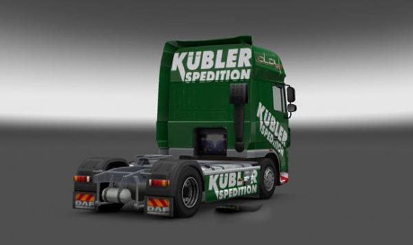 DAF Kubler Spedition Skin