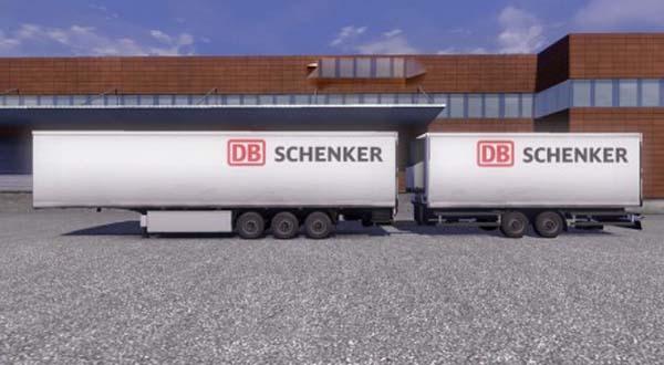 DB Schenker Krone Gigaliner