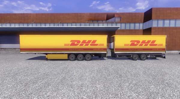 DHL Krone Gigaliner