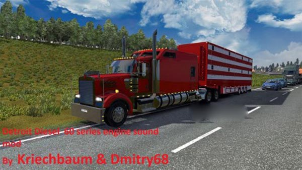 Detroit Diesel 60 series sound mod for the W900 Long