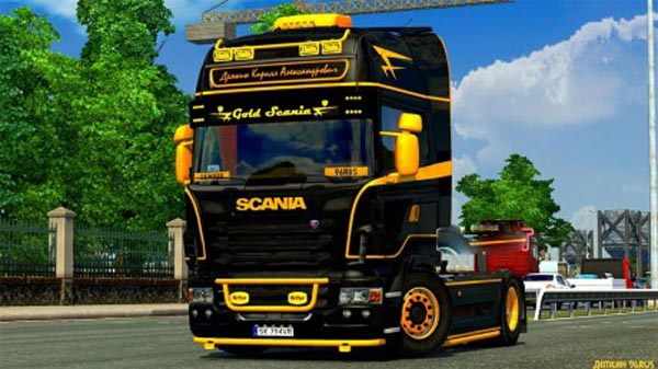 Gold Scania Skin