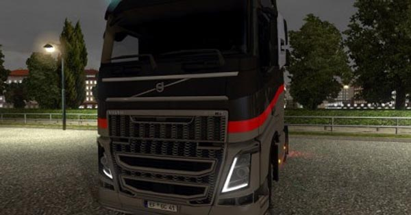 Grill in stripes for Volvo FH 2012