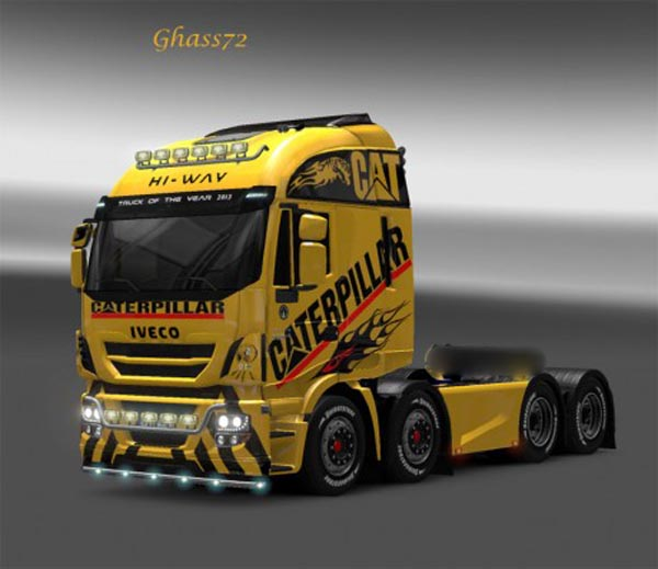 Iveco Hi-way CAT skin