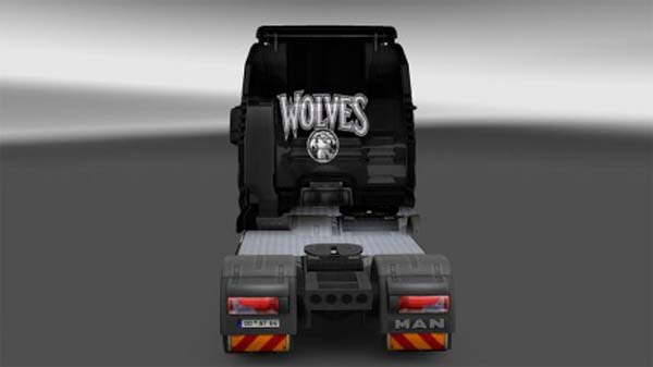 MAN Minnesota Timber Wolves skin