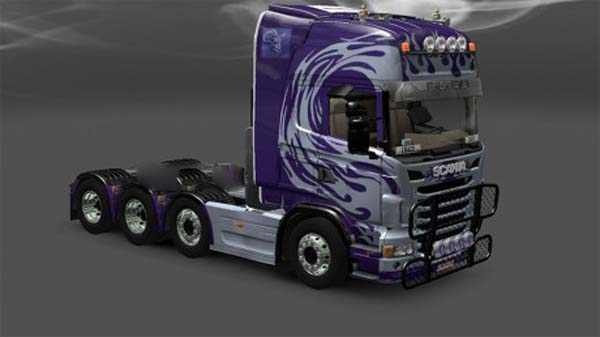 Malmbergs skin for Scania