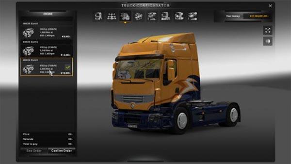 New powers 650 for Renault Premium