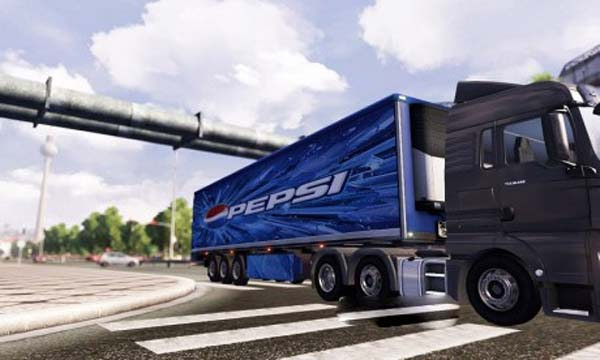 Pepsi Transport Trailer
