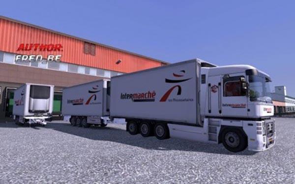Renault Magnum Tandem Intermarche