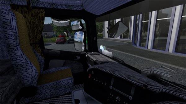 Scania BATIK interior