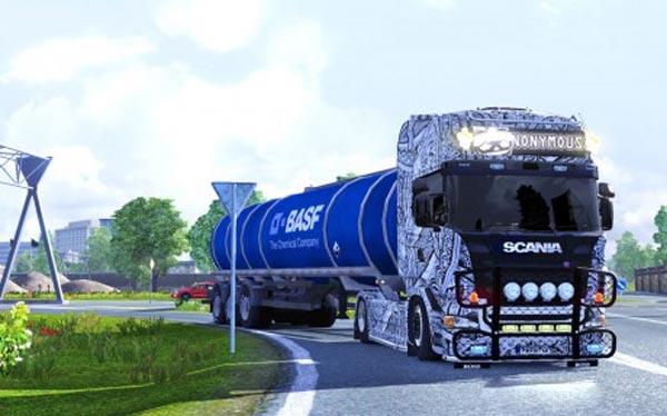 Scania Batik Indonesia Skin