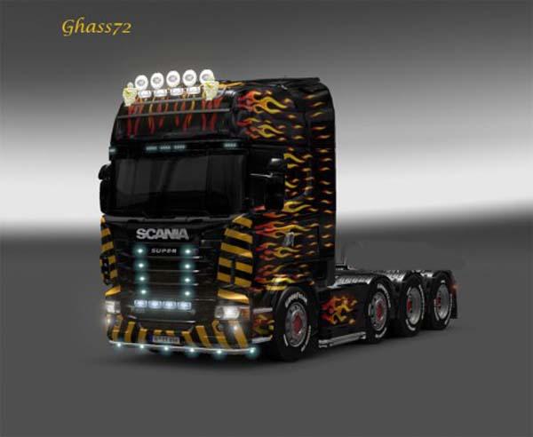 Scania Flame skin