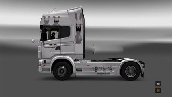 Scania Lapin Cretins skin